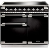 Rangemaster Elise 100 Induction Gloss Black 100cm Electric Range Cooker