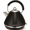 Morphy Richards 102002 Accents Pyramid Black Traditional Kettle