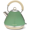 Morphy Richards Pyramid refresh (Lid & ba Accents Pyramid Sage Green Trad Kettle