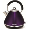 Morphy Richards 102020 Accents Pyramid Plum Traditional Kettle
