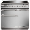 Rangemaster ELS90EISS Elise Stainless Steel with Brushed Chrome Trim 90cm Electric Range Cooker