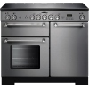 Rangemaster KCH100ECSS/C Kitchener Stainless Steel with Chrome Trim 100cm Electric Range Cooker