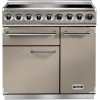 Falcon F900DXEIFN/N-EU 900 Deluxe Fawn with Nickel Trim 90cm Electric Range Cooker
