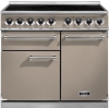 Falcon F1000DXEIFN/N-EU 1000 Deluxe Fawn with Nickel Trim 100cm Electric Range Cooker