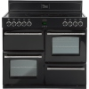 Belling Classic 1000E Black 100cm Electric Ceramic Range Cooker
