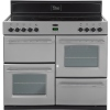Belling Classic 1000E Silver 100cm Electric Ceramic Range Cooker