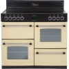 Belling Classic 100E Cream 100cm Electric Ceramic Range Cooker
