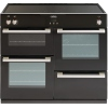Belling DB4 100Ei Black 100cm Electric Induction Range Cooker