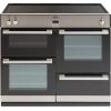 Belling DB4 100Ei Stainless Steel 100cm Electric Induction Range Cooker