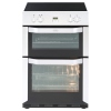 Belling FSE 60 MFTi White Electric Cooker with Double Oven