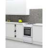 Belling FS50GSO White Gas Cooker with Single Oven