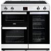 Belling Cookcentre 90Ei Stainless Steel 90cm Electric Range Cooker