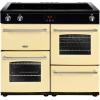 Belling Farmhouse 100Ei Cream 100cm Electric Range Cooker
