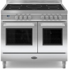 Britannia Q Line Stainless Steel RC10TIQLS 100cm Electric Induction Range Cooker