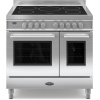 Britannia Q Line Stainless Steel RC9TIQLS 90cm Electric Induction Range Cooker