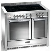 Baumatic BCE1025SS 100cm Electric Ceramic Range Cooker