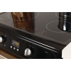 Hotpoint Ultima HUI612K Induction Electric Cooker Double Oven