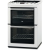 Zanussi ZCI660MWC Electric Cooker with Double Oven