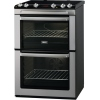 Zanussi ZCV667MX Ceramic Electric Cooker with Double Oven