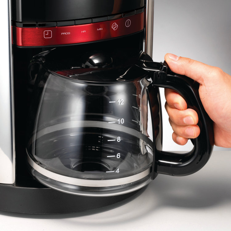 Morphy Richards Coffee Maker 47094 Instructions : Buy Morphy Richards 162005 Coffee Maker - Red Marks Electrical