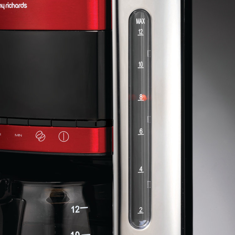 Buy Morphy Richards 162005 Coffee Maker - Red Marks Electrical