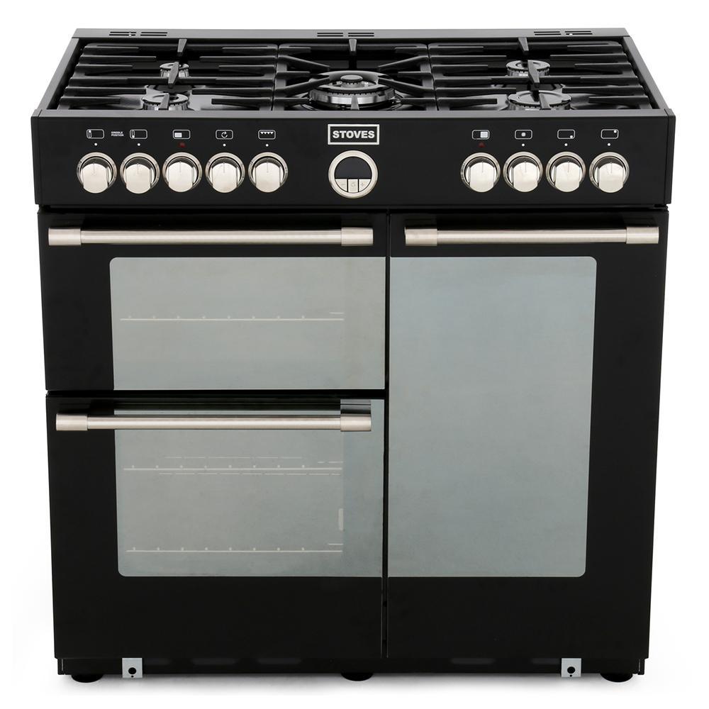 90Cm range cooker dual fuel