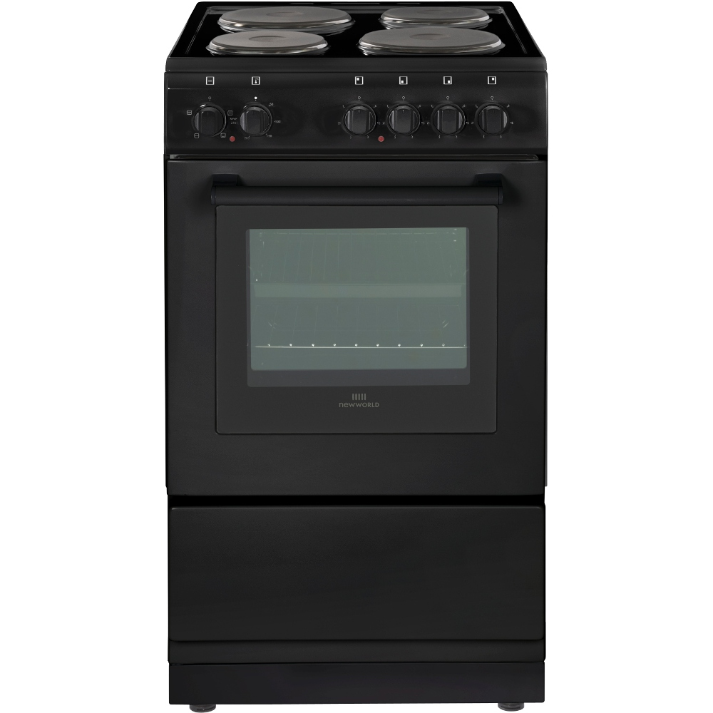 New World Kitchen Appliances Buy New World Nw50es Solid Plate Electric Cooker With Single Oven