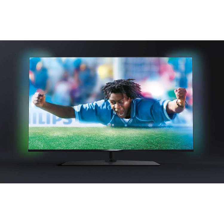 buy philips 49pus7809 7800 series 3d 4k ultra hd led television 49pus7809 12 black and. Black Bedroom Furniture Sets. Home Design Ideas