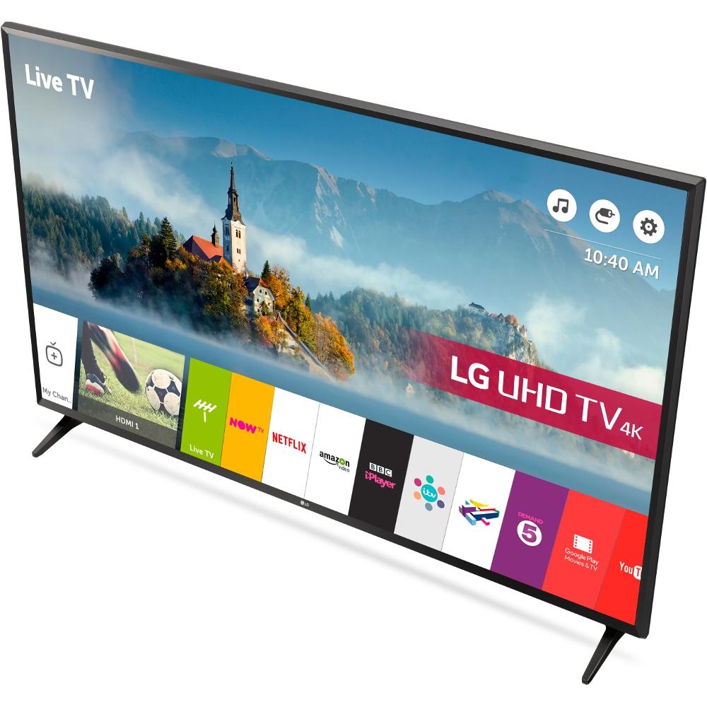 buy lg 49uj630v 49 4k ultra hd smart television black marks electrical. Black Bedroom Furniture Sets. Home Design Ideas