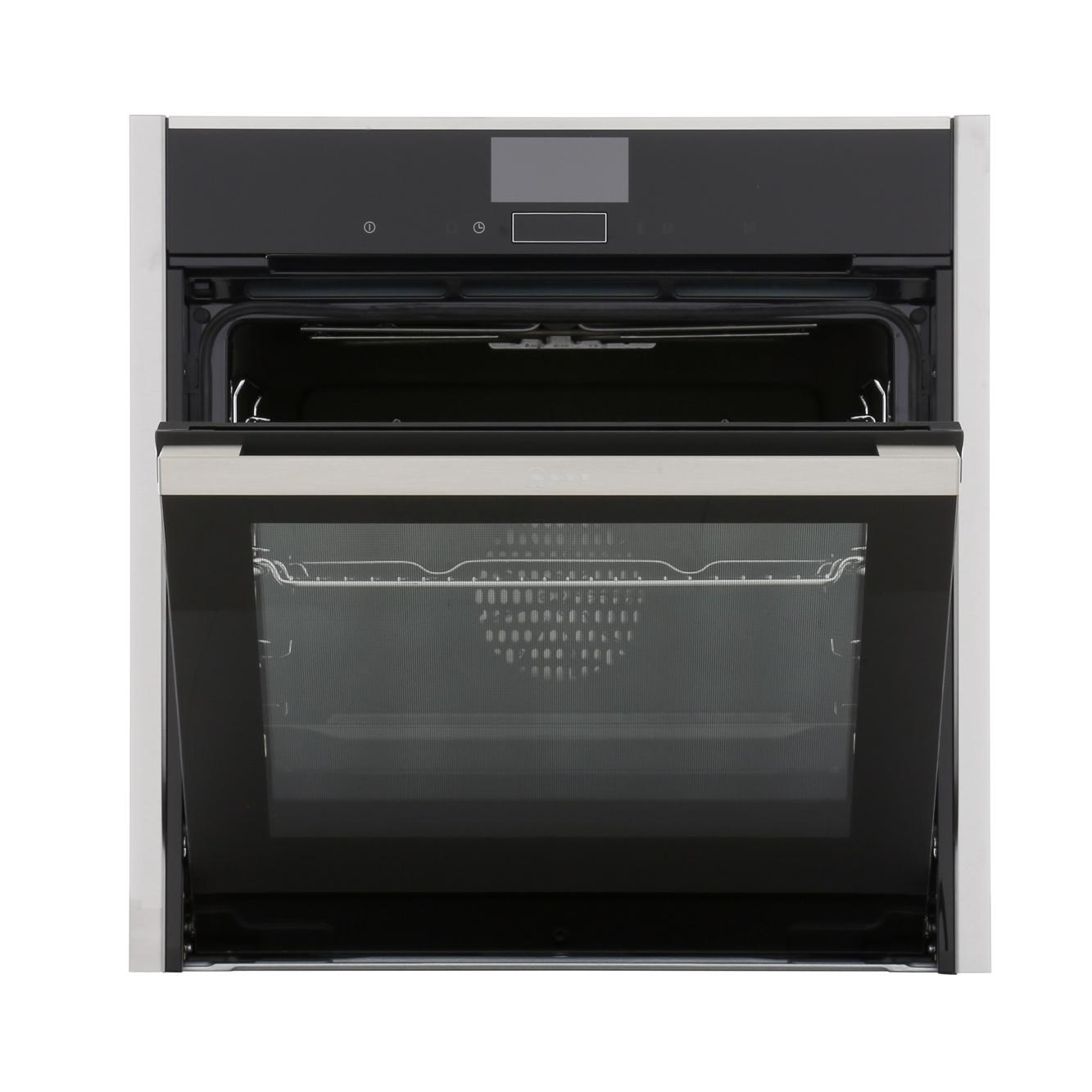 Buy neff b47cs34n0b single built in electric oven stainless steel marks electrical - Neff electric ...
