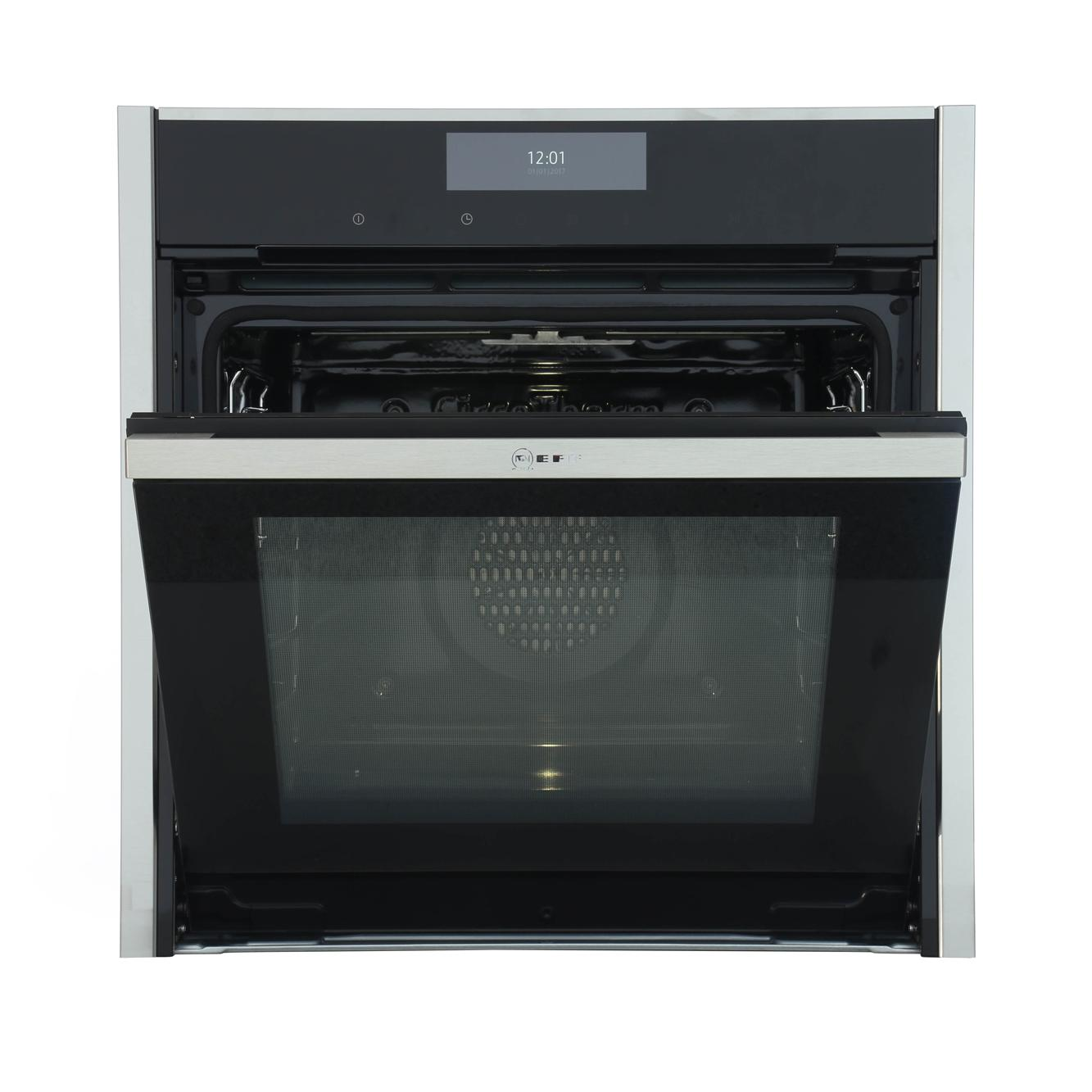 buy neff b58ct68n0b single built in electric oven marks. Black Bedroom Furniture Sets. Home Design Ideas