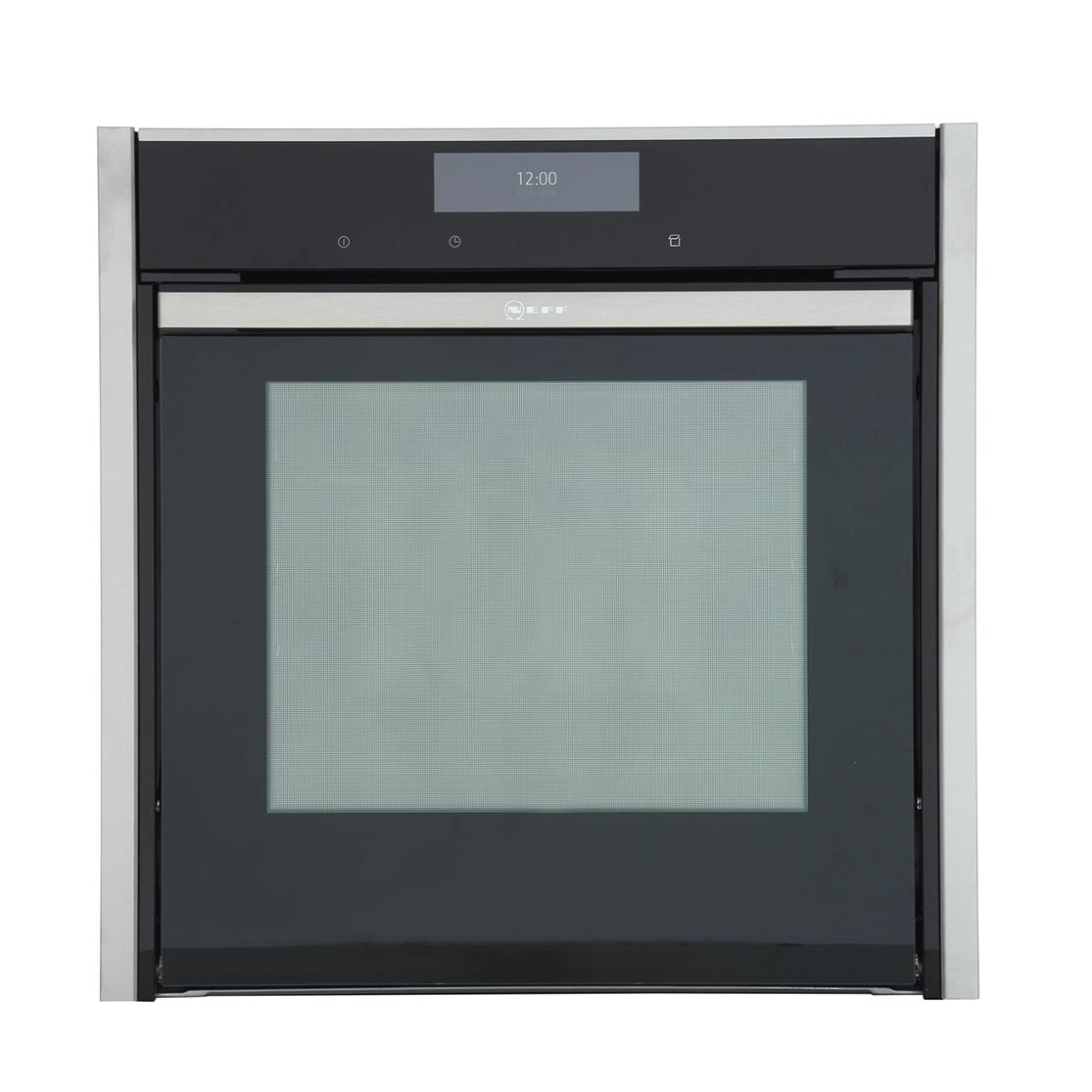 Buy neff b58vt68n0b single built in electric oven stainless steel marks electrical - Neff electric ...