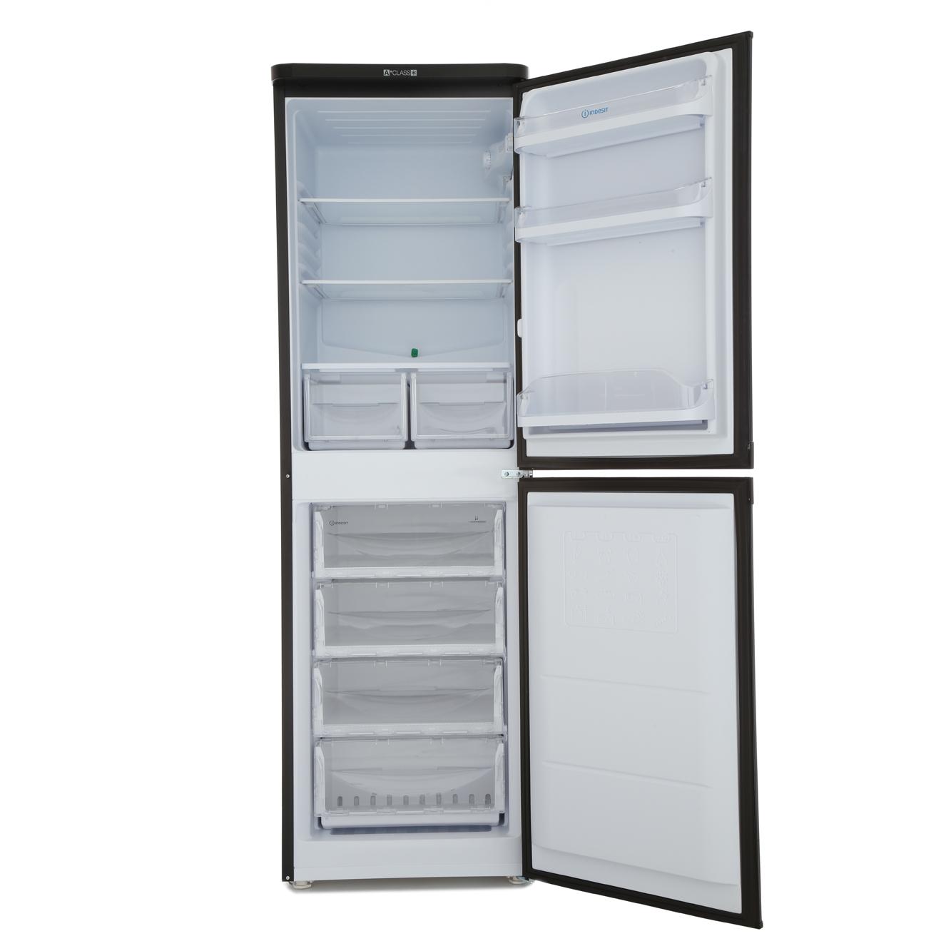 Buy Indesit Caa55k Fridge Freezer Caa55kuk Black