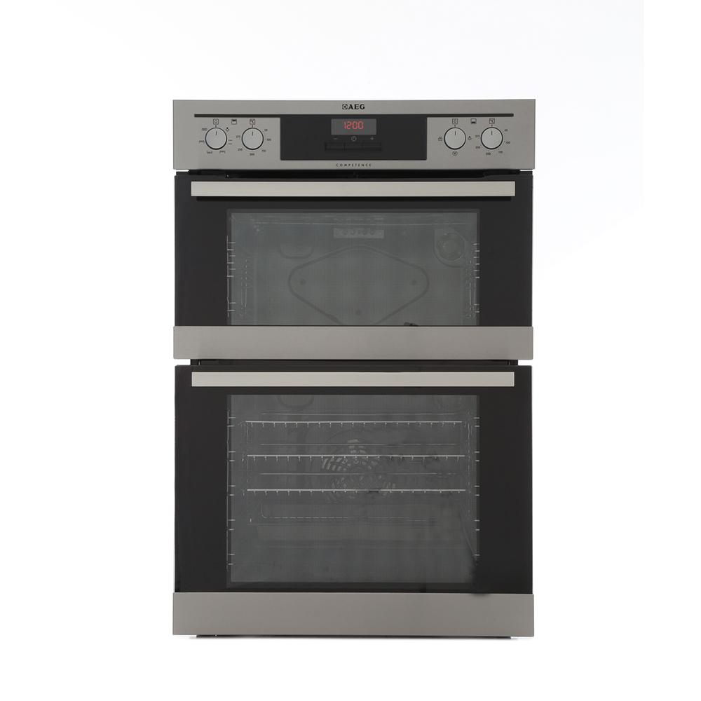 buy aeg de401301dm double built in electric oven. Black Bedroom Furniture Sets. Home Design Ideas