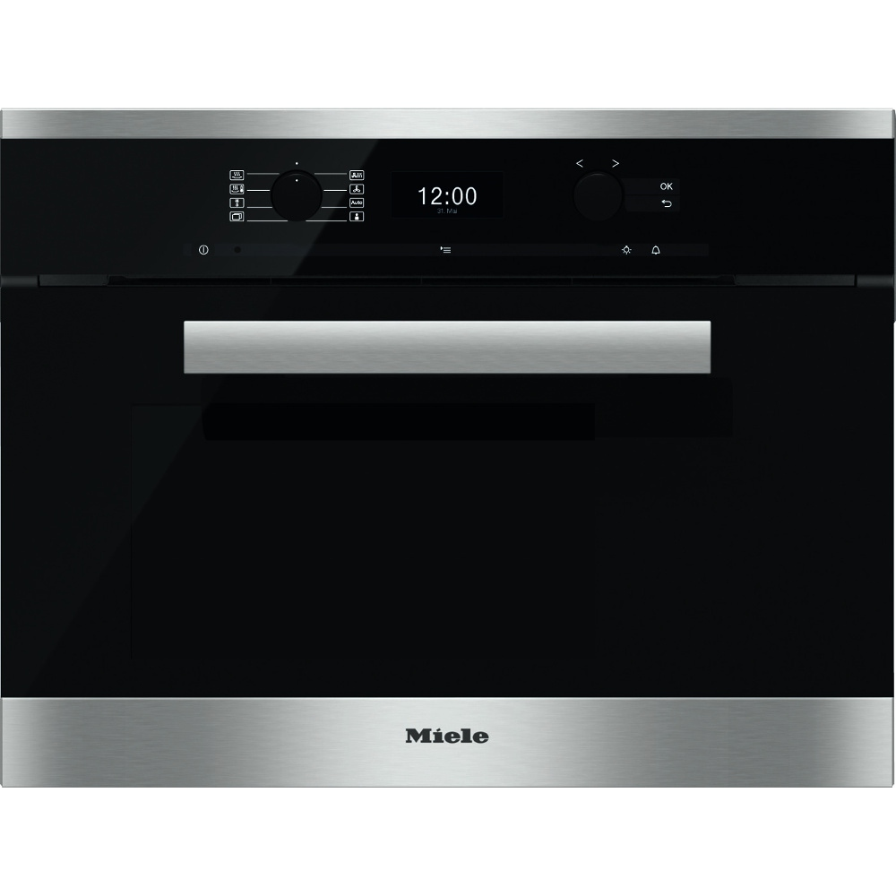 buy miele pureline dgc6400 cleansteel steam oven. Black Bedroom Furniture Sets. Home Design Ideas