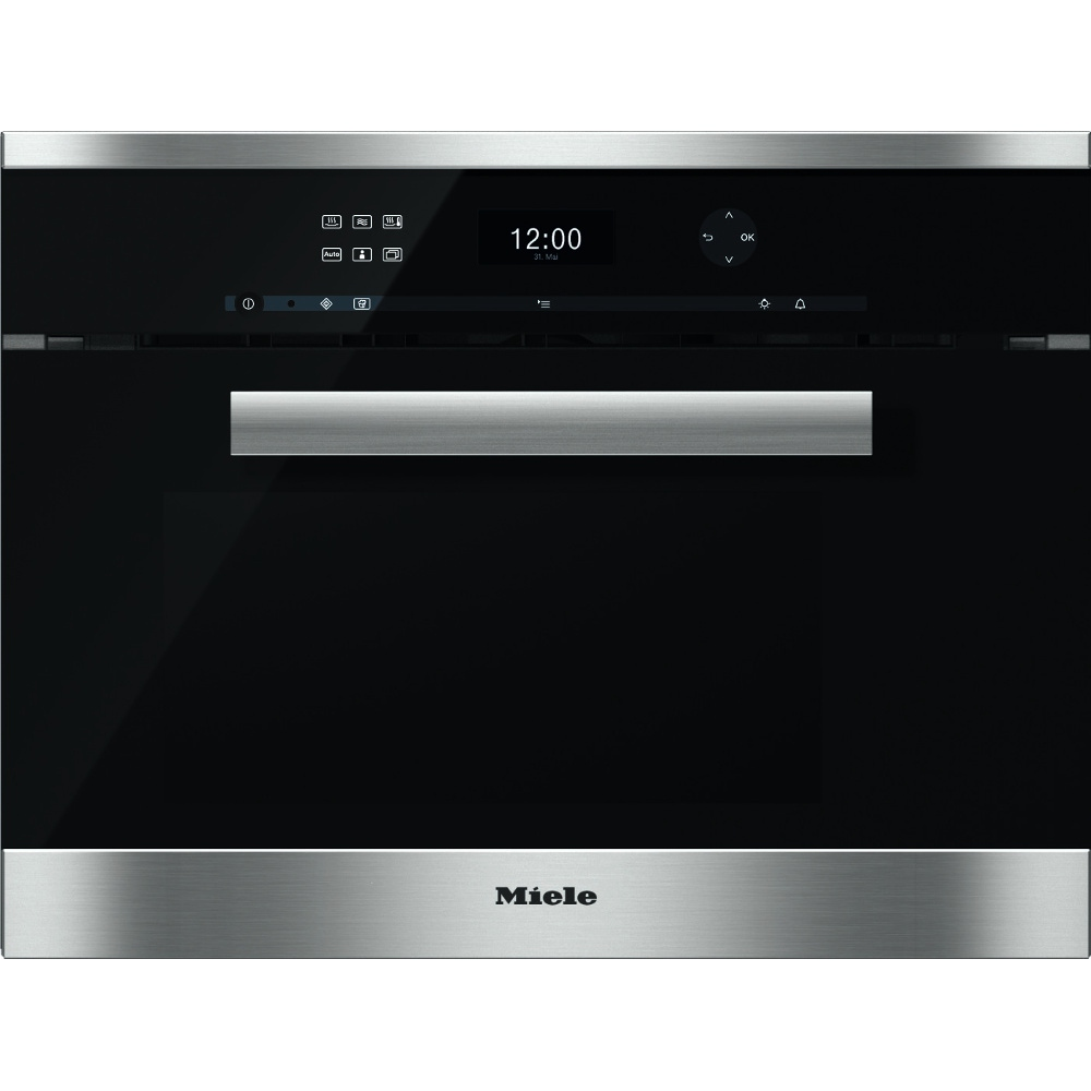 buy miele pureline dgm6401 cleansteel steam oven with. Black Bedroom Furniture Sets. Home Design Ideas