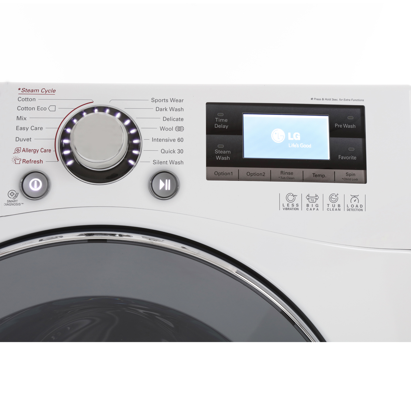 Buy lg truesteam 6 motion direct drive f1495bdsa washing for Lg direct drive motor