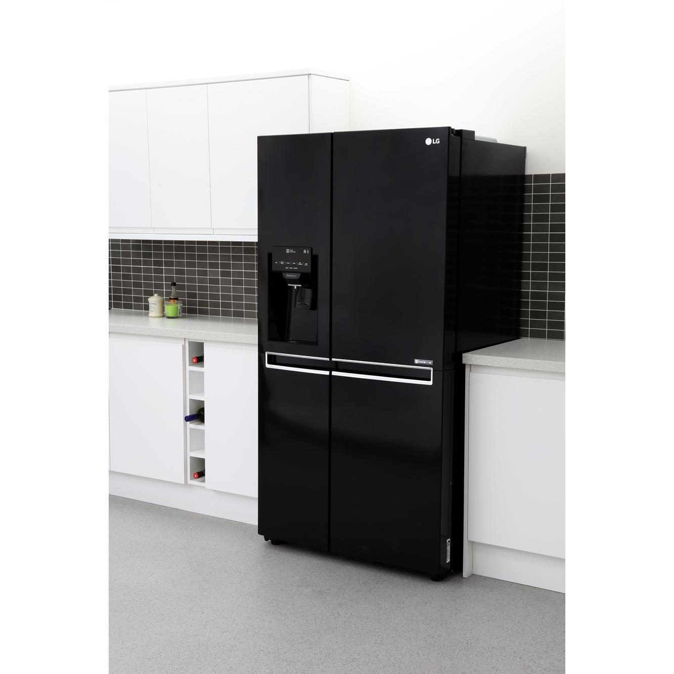 buy lg gsl761wbxv american fridge freezer black marks electrical. Black Bedroom Furniture Sets. Home Design Ideas