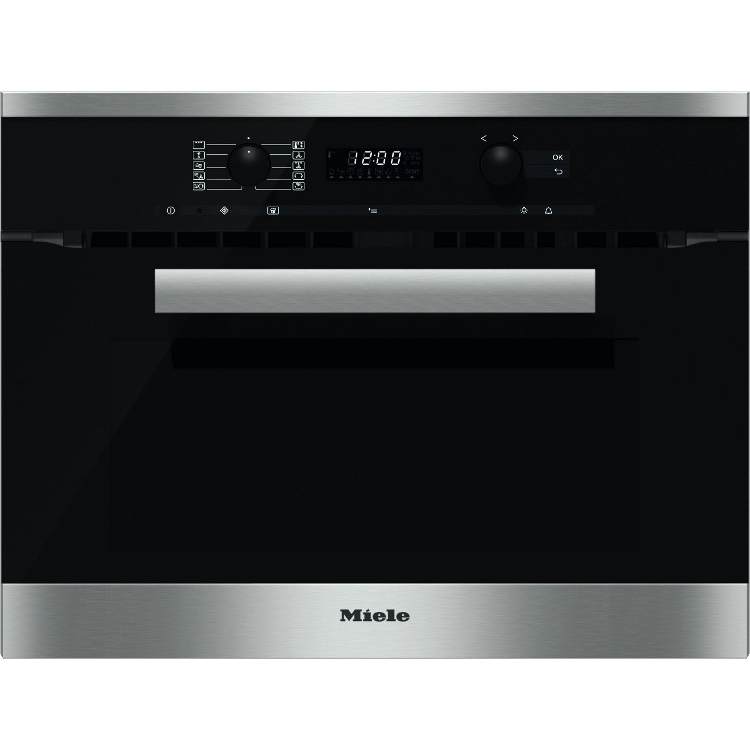 buy miele pureline h6200bm cleansteel built in combination. Black Bedroom Furniture Sets. Home Design Ideas