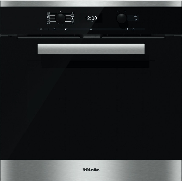 buy miele pureline h6460bp cleansteel single built in. Black Bedroom Furniture Sets. Home Design Ideas