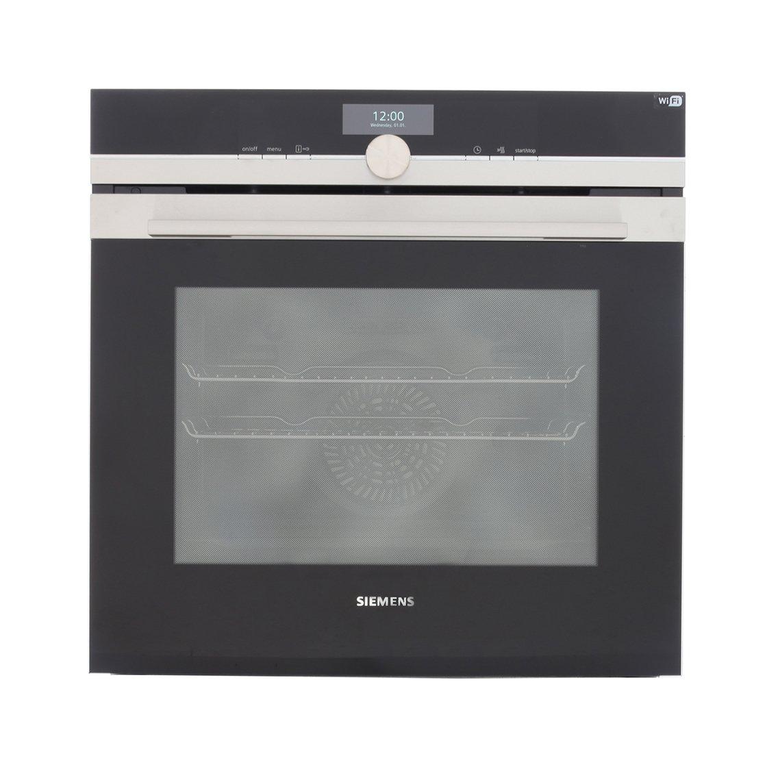 Buy siemens hb676gbs6b single built in electric oven for Siemens ofen