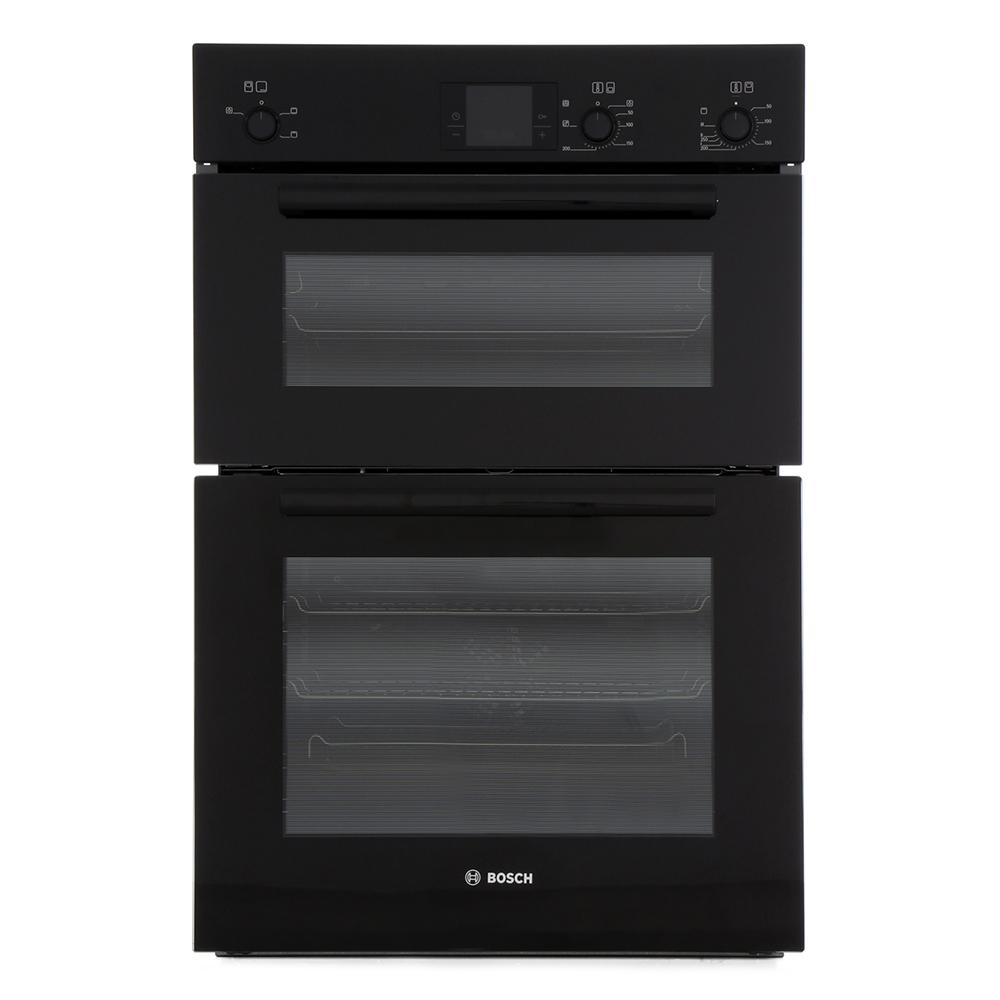 buy bosch serie 6 classixx hbm13b261b double built in electric oven hbm13b261b black marks. Black Bedroom Furniture Sets. Home Design Ideas