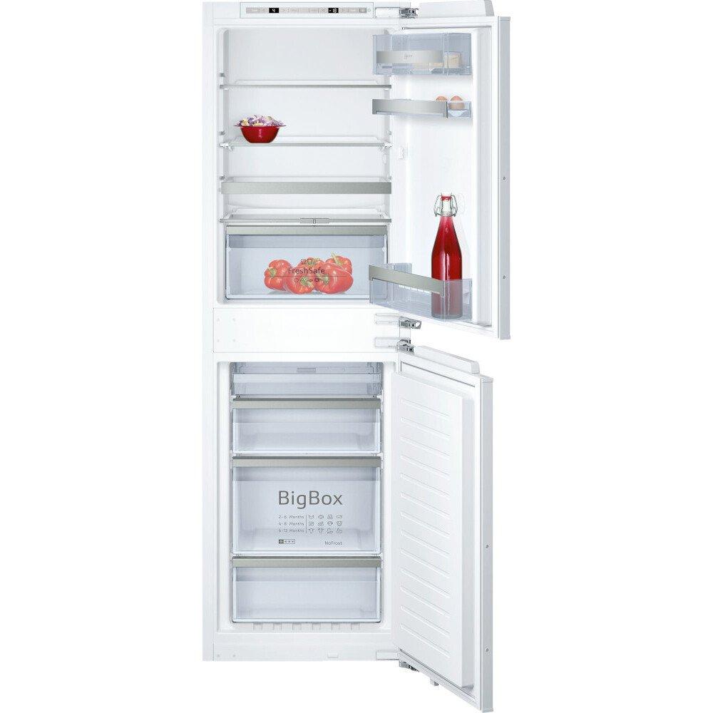 Buy neff ki7853d30g frost free integrated fridge freezer - Integrated freezer ...