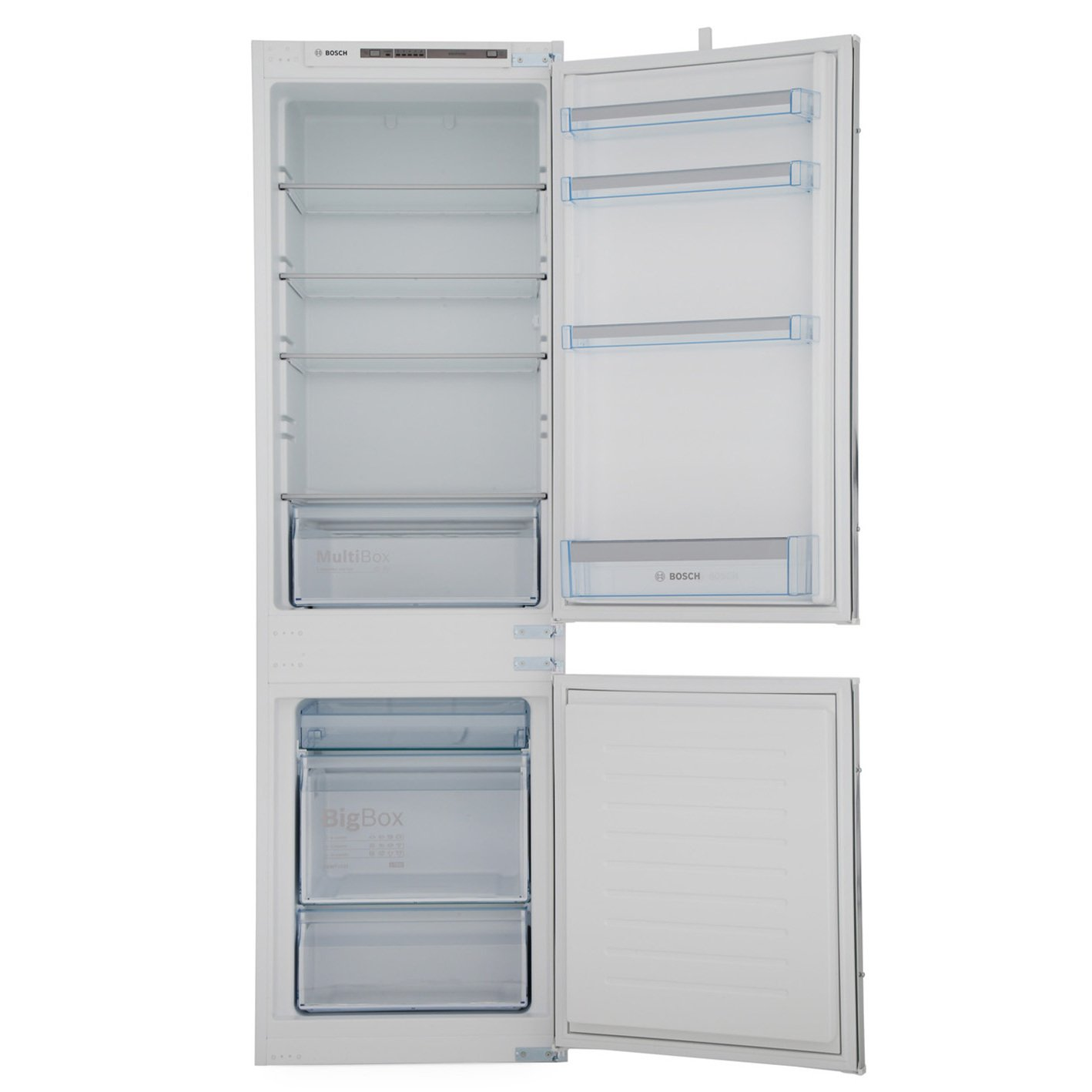 buy bosch serie 4 kiv86vs30g integrated fridge freezer kiv86vs30g white marks electrical. Black Bedroom Furniture Sets. Home Design Ideas