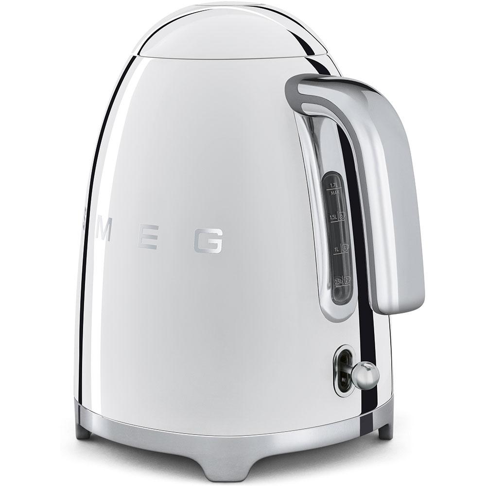 Buy smeg klf01ssuk 50 39 s retro style kettle klf01ssuk polished steel marks electrical - Smeg vintage ...