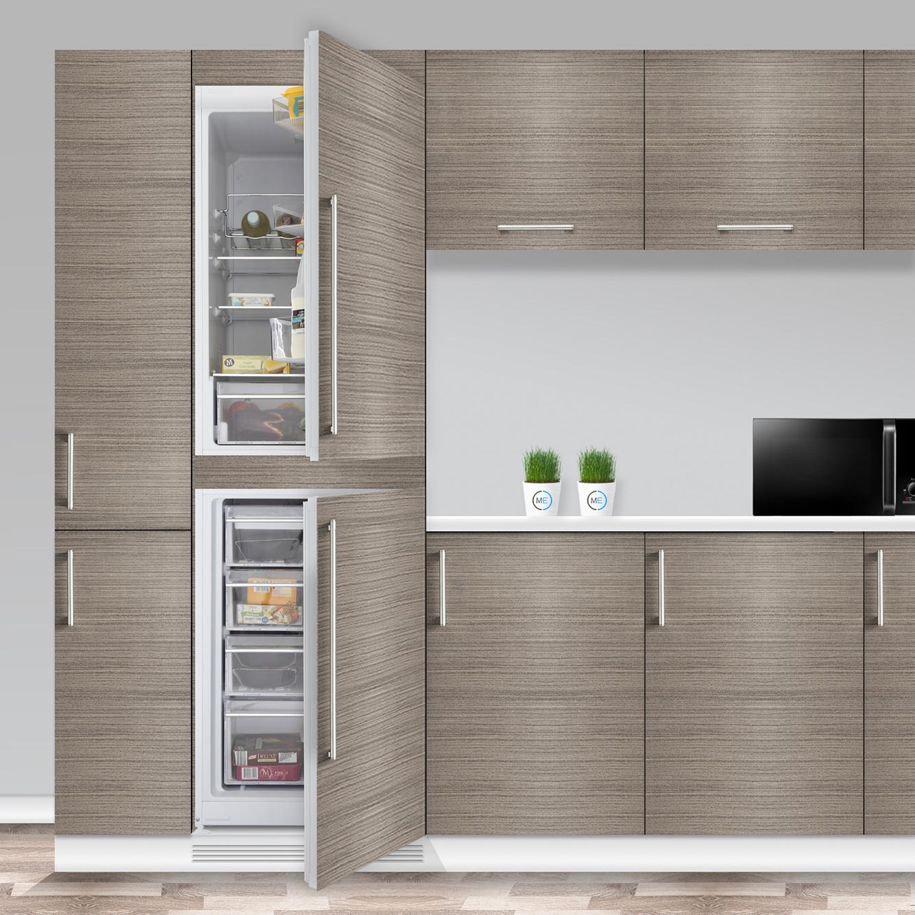Buy blomberg knm4561i frost free integrated fridge freezer - Integrated freezer ...