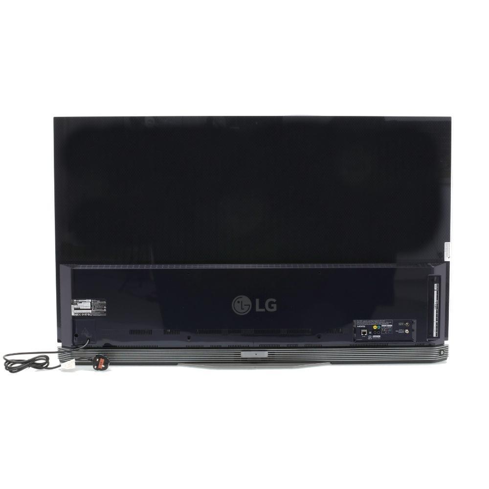buy lg oled55e6v 55 oled 4k ultra hd 3d television with sound bar stand oled55e6v black. Black Bedroom Furniture Sets. Home Design Ideas