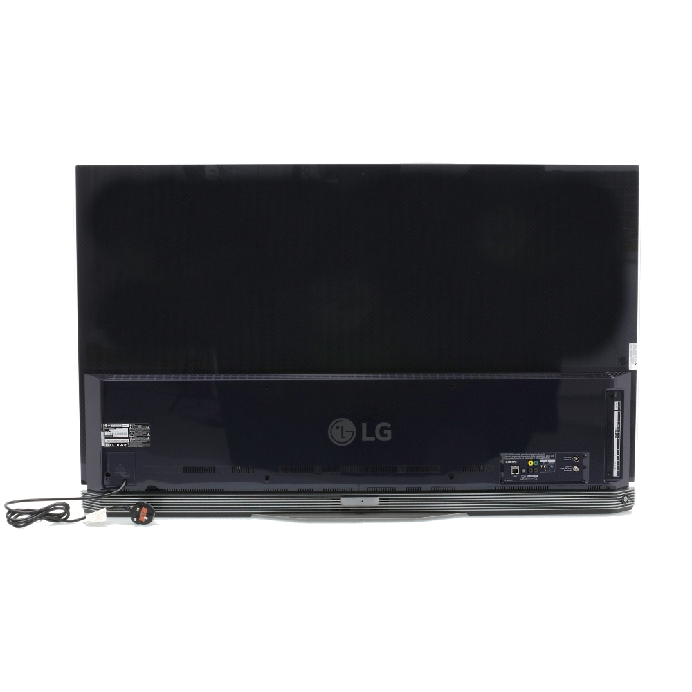 buy lg oled65e6v 65 3d 4k ultra hd oled television with sound bar stand oled65e6v black. Black Bedroom Furniture Sets. Home Design Ideas