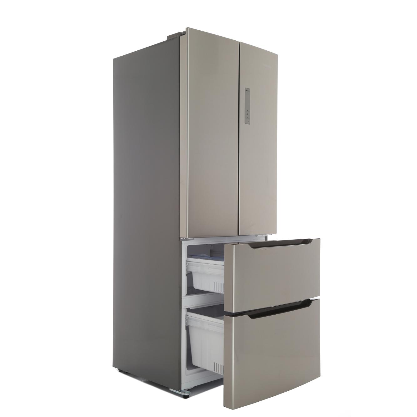Buy Hisense Rf528n4ac1 American Fridge Freezer Grey