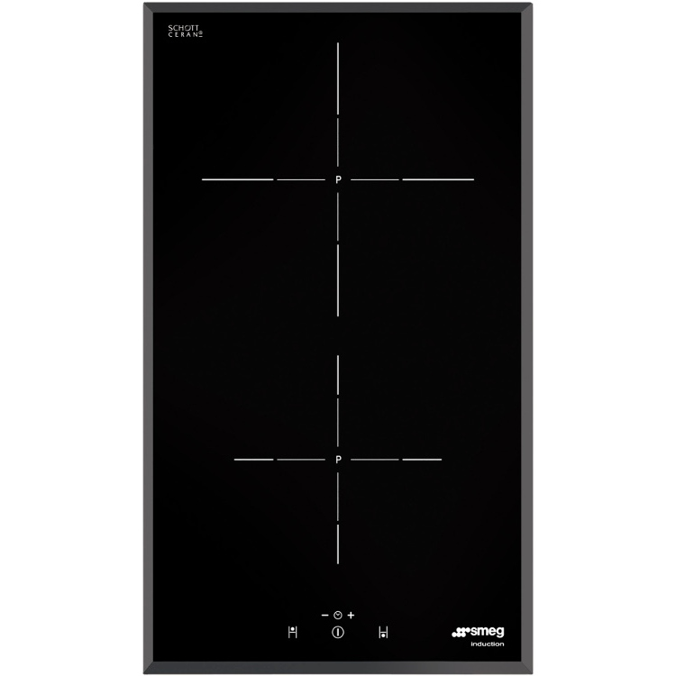 buy smeg si5322b 2 zone induction domino hob frameless marks electrical. Black Bedroom Furniture Sets. Home Design Ideas